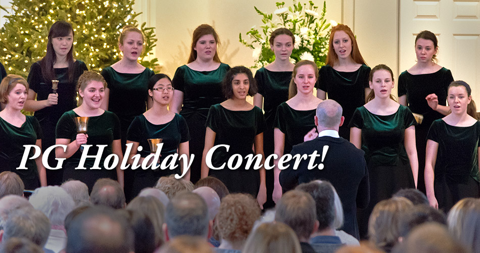 PG Holiday Concert!